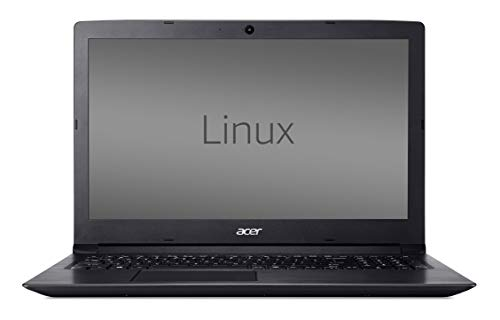 Acer Aspire 3 15.6-inch Laptop (Intel Celeron Dual Core-3060U/2GB/500GB/Linux/Integrated Graphics), Obsidian Black 169