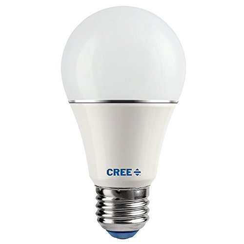 Cree SA19-08127MDFD-12DE26-1-14 FBA_SA19-08127MDFD-12DE26-1-14 LED 60W Replacement A19 Soft White (2700K) Dimmable Light Bulb (4-Pack), Piece