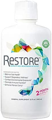 31IKhnO8noL. AC  - Restore Promotes Gut-Brain Health | Dr. Formulated - Probiotic & Enzyme Alternative – for Digestive Health, Mood, Weight Loss & Energy Boost, Immune Support, Stress Relief | 2-Month Supply