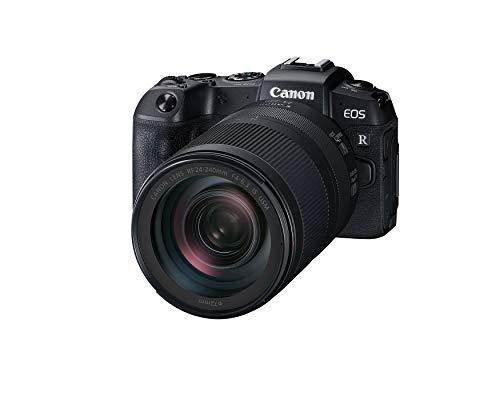 Canon EOS RP Full-frame Mirrorless Interchangeable Lens Camera + RF24-240mm F4-6.3 IS USM Lens Kit, Black - 3380C032