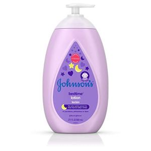 Johnson's Moisturizing Bedtime Baby Lotion with NaturalCalm Essences to Soothe and Relax, Hypoallergenic and Paraben… 31IYwvDkHwL