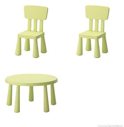 Ikea Tavolino E Sedia Per Bambini Modello Mammut Colore