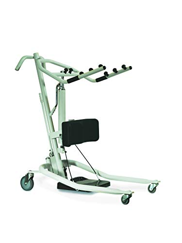 Invacare Get-U-Up Hydraulic Stand-Up Lift, 350 lb. Weight Capacity, GHS350