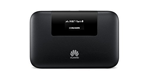 Huawei E5770s-320 150 Mbps 4G LTE Mobile WiFi Hotspot(4G LTE in Europe, Asia, Middle East, Africa & 3G globally, 20 hour) (Black)