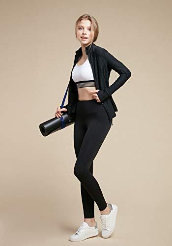 Tsla yoga pants high waist tummy control w hidden pocket
