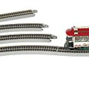 Bachmann Trains – Norman Rockwell's Main Street Christmas Battery Operated Auto Reversing Village Streetcar Set – On30 Scale – Runs on HO Track 31JgEGSmZpL