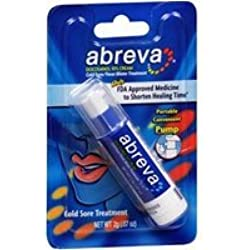 Abreva 2grm Pump Size 1ct Abreva Cold Sore Treatment