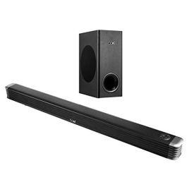 boAt Aavante Bar 1800 120 Watt 2.1 Channel Wireless Bluetooth Soundbar (Premium Black)