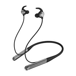 Noise Flair in-Ear Wireless Bluetooth Smart Neckband Earphone with Touch Controls, 35 Hour Playtime, Environmental noise…