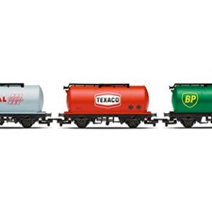 Hornby Railroad BP/Texaco/Total Fuel Tanker (Pack of 3) 31K1cvBffOL