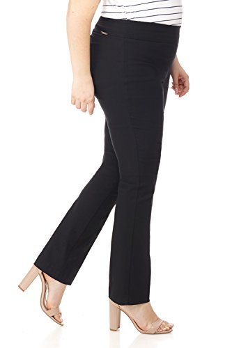 Straight leg plus size yoga pants