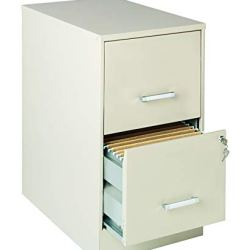 Lorell SOHO 22″ 2-Drawer File Cabinet