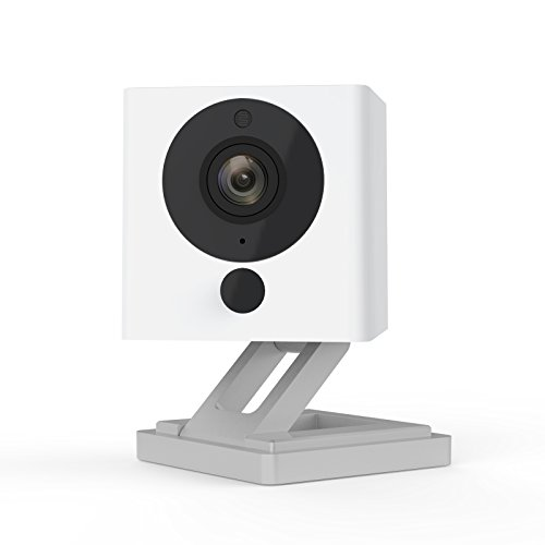 Wyze-Cam-1080p-HD-Indoor-Wireless-Smart-Home-Camera-with-Night-Vision-2-Way-Audio-Works-with-Alexa-the-Google-Assistant-One-Pack-White-WYZEC2