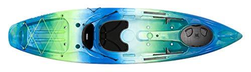 Perception Pescador 10 | Sit on Top Kayak for Adults | Fishing Kayak | 10' | Déjà vu