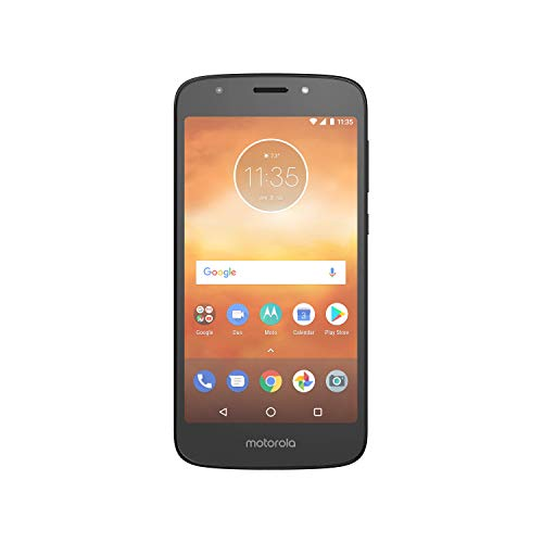Moto E5 Play with Alexa Push-to-Talk - 16 GB - Unlocked (AT&T/T-Mobile) - Black - Prime Exclusive Phone