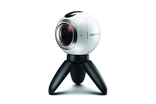 Samsung Gear 360 Degree Spherical Camera (SM-C200) for Galaxy S7, S7 Edge, S6, S6 Edge, S6 Edge Plus, Note 5 (International Version - No Warranty)