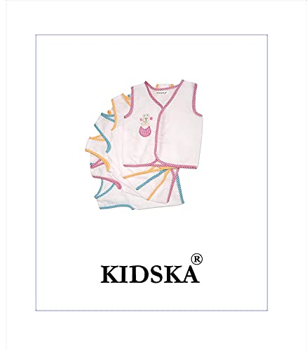 31LVJ2%2BYKKS KIDSKA® New child Child Cotton Jhabla New child Child Costume for Child (zero To six Months)