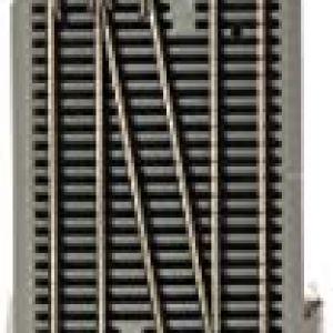 Bachmann Trains E-Z Command Dcc #6 Single Crossover Turnout-Left (1/Box)-Ho Scale 31LbKtPFghL