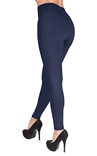 Navy blue yoga pants outfit