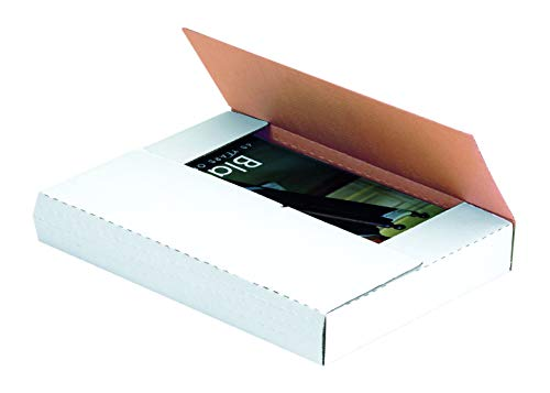Aviditi-MIBMROS-Corrugated-Easy-Fold-Mailer-15-Length-x-11-18-Width-x-2-Height-White-Bundle-of-50-oyster-white