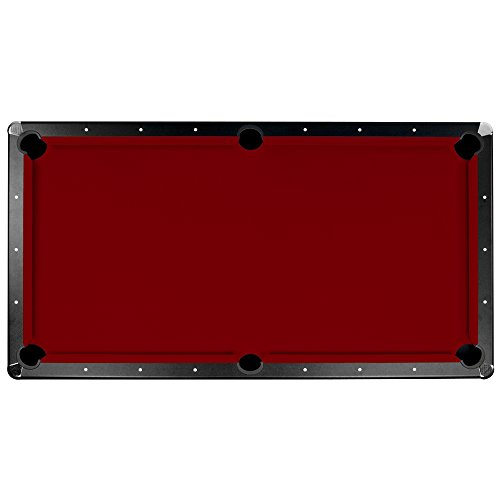 Championship Saturn II Billiards Cloth Pool Table Felt , Burgundy,...
