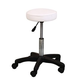 ColdBeauty-White-Adjustable-Salon-Barber-Massage-Beauty-Bed-with-Hydraulic-Stool-Facial-Acupuncture-Chair