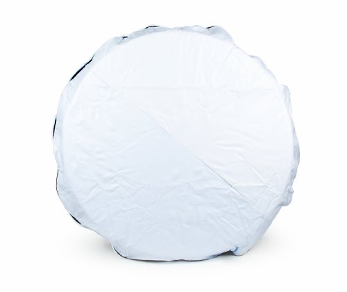 Camco 45346 Vinyl Spare Tire Cover (27 inches  , White)