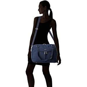 Tote it over the shoulder or wear it across the body