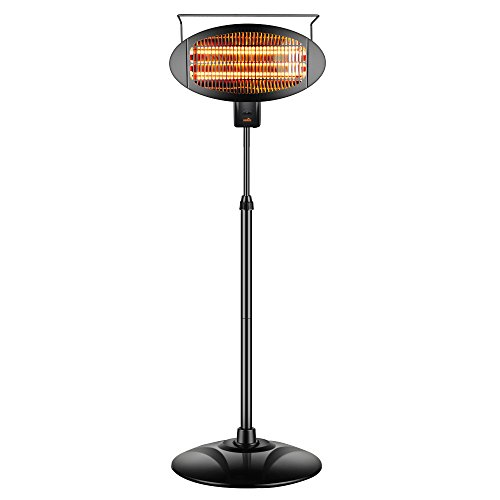 Sundate-Halogen-Patio-Heater-IndoorOutdoor-Electric-Vertical-Heater-with-3-Power-Levels-PHP-1500DI