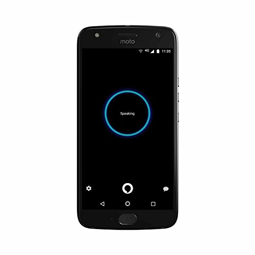 Moto X (4th Generation) - with hands-free Amazon Alexa – 32 GB - Unlocked – Super Black - Prime Exclusive