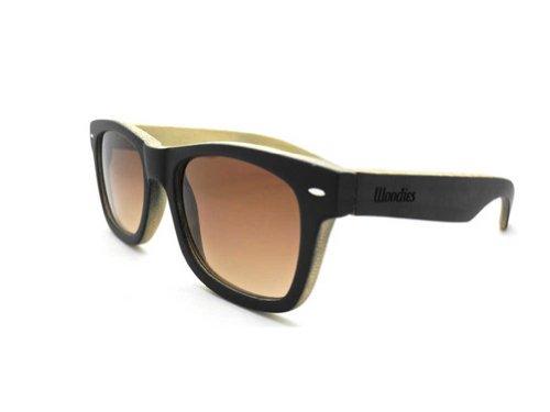 42ac3e0b38a WOODIES Full Bamboo Wood Sunglasses