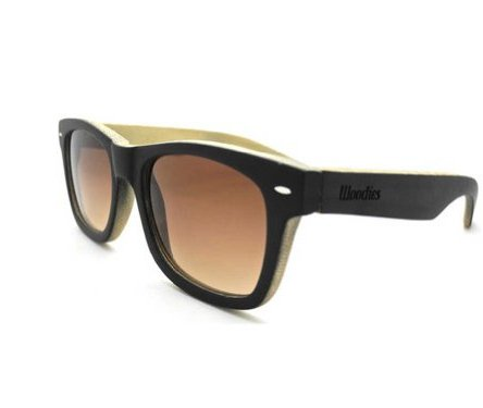 WOODIES Full Bamboo Wood Sunglasses