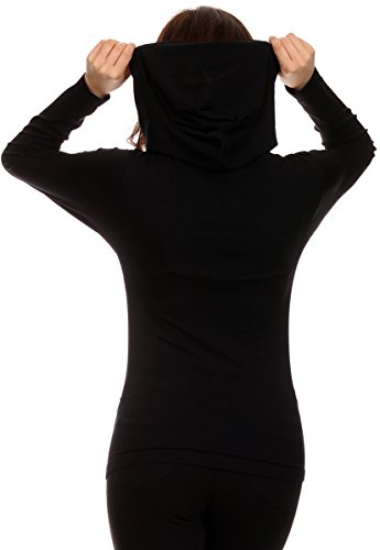 Lotus Lightweight 4-Way Stretch Hooded Active Yoga Fitness Zumba Jacket with Pokets Zip Up/One Size 4 Fashion Online Shop gifts for her gifts for him womens full figure
