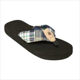 526a796b03b9 Tidewater Sandals Women s Kiely Madras Flip Flops