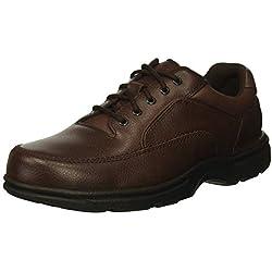 Rockport Men's Eureka Walking Shoe, Brown, 11 D(M) US