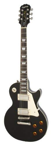 Epiphone Les Paul Standard Electric Guitar, Ebony