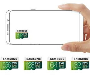 Samsung-Electronics-EVO-Select-256GB-microSDXC-UHS-I-U3-100MBs-Full-HD-4K-UHD-Memory-Card-with-Adapter-MB-ME256HA