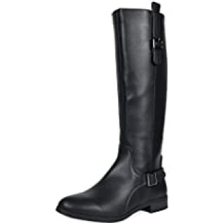 TOETOS Women's Knee High Riding Boots- Wide Calf
