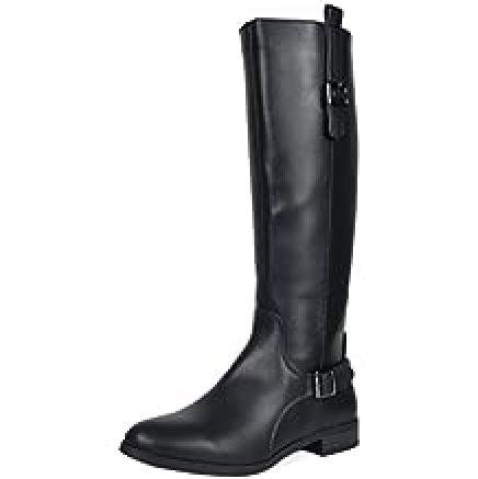 TOETOS Women's Knee High Riding Boots- Wide Calf
