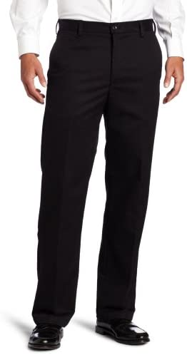 IZOD Men's American Chino Flat Front Straight Fit Pant 1