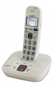 Clarity D712 Moderate Hearing Loss Cordless Phone - Expandable Handsets (Clarity D712)