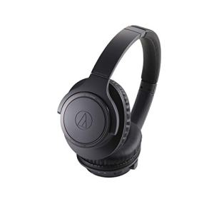Audio-Technica ATH-SR30BTBK Wireless Over-Ear Headphones, Charcoal Gray