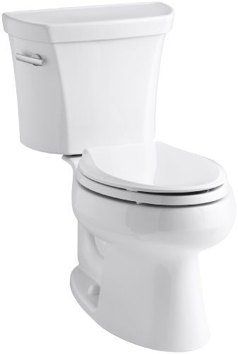 Kohler K-3978-0 Wellworth Elongated 1.6 gpf Toilet