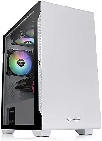 Thermaltake S100 TG Snow Edition ミニタワーPCケース スイングドアパネル採用 CA-1Q9-00S6WN-00 CS7886