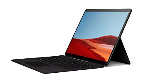 """Microsoft Surface Pro X – 13"""" Touch-Screen – SQ1 - 8GB Memory - 256GB Solid State Drive – Wifi, 4G Lte – Matte Black 1"""