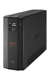 APC 1500VA Compact UPS Battery Backup & Surge Protector, Back-UPS Pro (BX1500M)