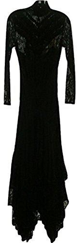 51V1sp1FcqL Long sleeve. Mock neck. Back button closure. Liner. 100% Silk. Dry clean.