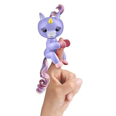 Fingerlings-Baby-Unicorn-Alika-Purple-with-Rainbow-Mane-and-Tail-Interactive-Baby-Pet-WowWee
