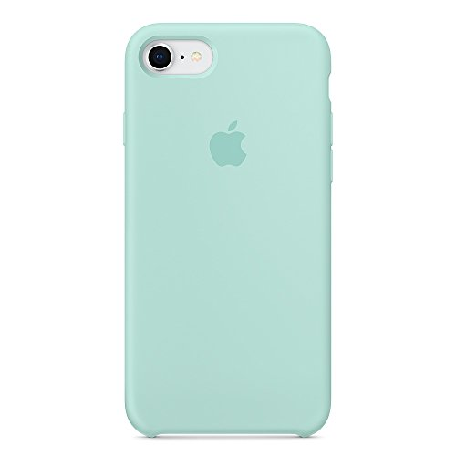 Dawsofl Soft Silicone Case Cover for Apple iPhone 8 (4.7inch) Boxed- Retail Packaging (Marine Green)