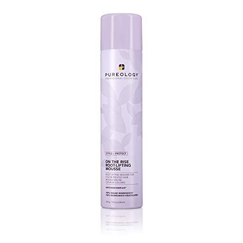 Pureology | Style + Protect On The Rise Root-Lifting Hair Mousse | Medium Control, All Day Volume | Vegan 1